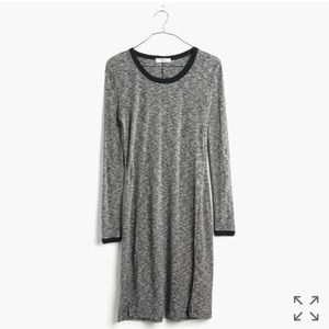 Knite Ribbed Grey Madewell dress